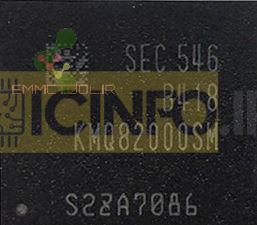 آی سی هارد KMQ82000SM-B418 16GB