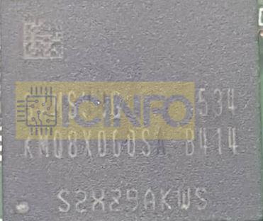 آی سی هارد SAMSUNG KMQ8X000SA-B414-16GB