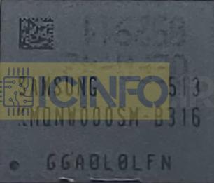 آی سی هارد KMQNW000SM-B316 8G