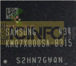 آی سی هارد KMQ7X000SA-B315 8G