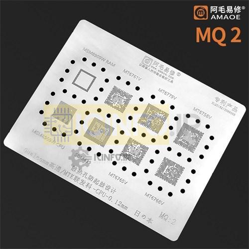 شابلون آی سی Qualcomm/MTK CPU ورق -MQ2