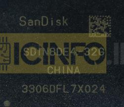 آی سی هارد SDIN8DE4-32G