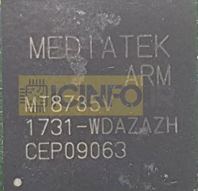 آیسی سی پی یو MT8735V-QDAZAZH