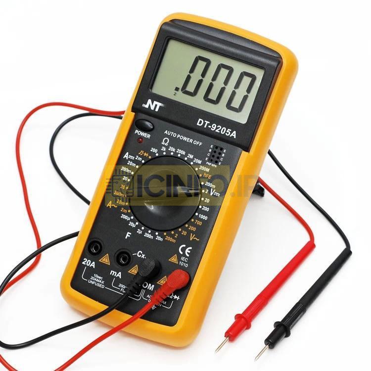 مولتی متر مدل NT-9205A