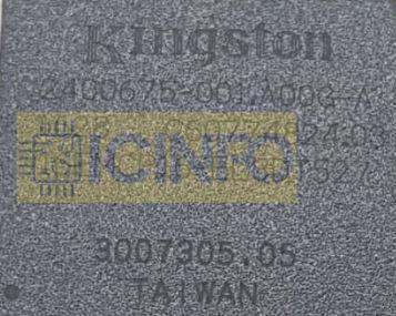 آیسی هارد KINGSTION 16EMCP16-EL3DT527
