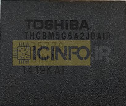 آی سی هارد THGBM5G6A2JBAIR 8GB